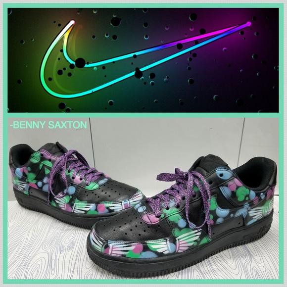 Nike Shoes | Custom Air Force One Low Customized | Poshmark